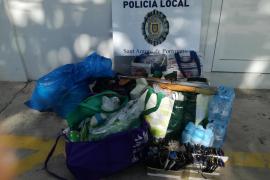 14 denuncias por venta ambulante en Cala Salada, s'Arenal y el West End