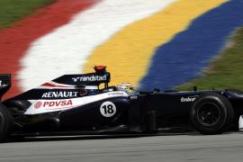 El venezolano Maldonado apunta a los primeros cinco puestos en el GP de China