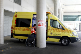 Normalidad en la primera jornada de huelga de ambulancias programadas