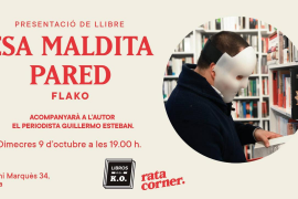 Flako presenta en Rata Corner su libro 'Esa maldita pared'