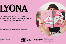 Lyona presenta su nuevo libro, 'Sex ¡oh!', en Rata Corner