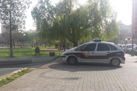 Tres detenidos por apuñalar a un joven en el parque wifi de Palma