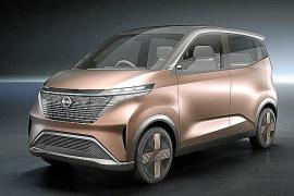 Nissan ha dado a conocer el prototipo eléctrico IMk