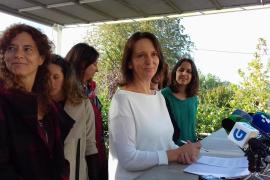 La diputada de Unidos Podemos Carolina Bescansa anuncia que renuncia a su escaño