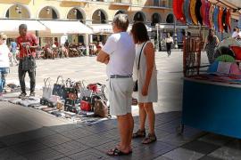 Artesanos frente a la venta ilegal