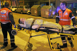 Detenido por apuñalar a dos hombres de madrugada en Palma