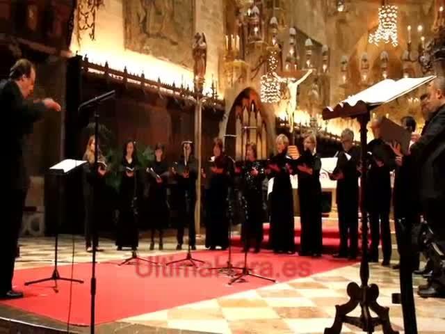 Poema Harmònic interpreta 'Missa', de Pau Villalonga, en la Seu