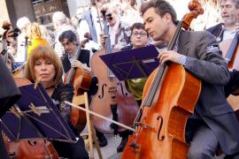 Salvador Brotons apoyará «hasta el final» a los músicos de la Simfònica