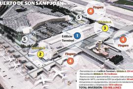 Una potente inversión de 559 millones modernizará el aeropuerto de Son Sant Joan