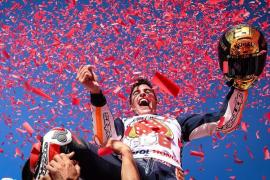 Marc Márquez conquista su sexto título de MotoGP en Buriram