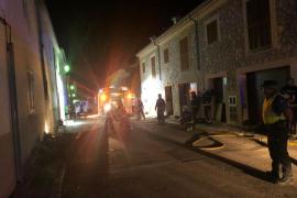 Incendio en Moscari