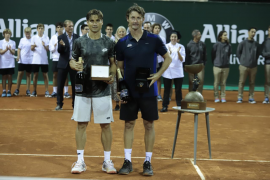 David Ferrer conquista la Legends Cup