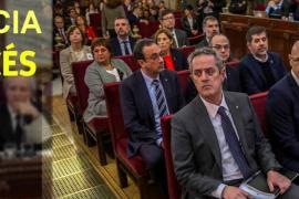 Condenas de 9 a 13 años de prisión para los líderes del 'procés' independentista en Cataluña