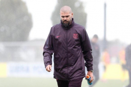 El Barça destituye a Víctor Valdés