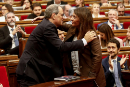 El Parlament catalán rechaza la moción de censura contra Torra
