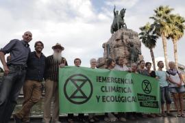 Solidaridad en Palma con la movilización mundial de Extinction Rebellion