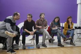 Errejón presenta lista en Baleares con la ayuda externa de cargos de Podemos