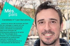 Juan Antonio Geraldes encabezará la lista por Barcelona de Más País
