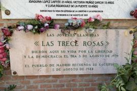 La asociación Trece Rosas se querellará contra Ortega Smith