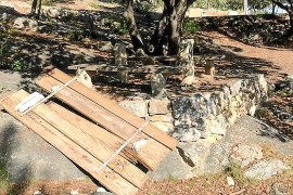 El vandalismo vuelve al área recreativa de es Puig de Lloseta