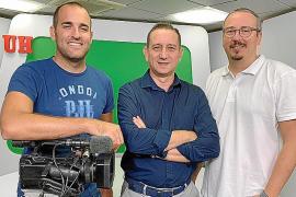 Alberto López, Manolo Coeto y Ricard Peitx, de Nova Producciones