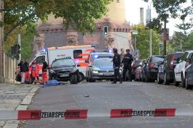 Un detenido tras el tiroteo con dos muertos junto a una sinagoga en Alemania