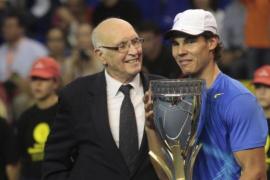 Fallece Andrés Gimeno, historia del tenis español