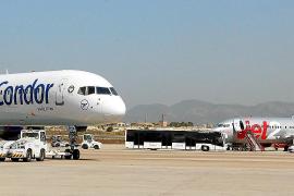 Son Sant Joan afrontará este invierno la mayor bajada de pasajeros y aviones