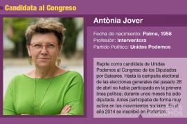 Antònia Jover, una activista en el Congreso