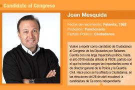 Joan Mesquida, el azote del 'sanchismo'
