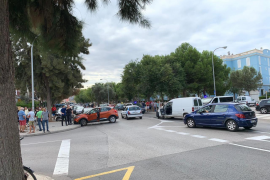 Espectacular persecución policial en el Coll d'en Rabassa