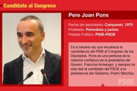 Pere Joan Pons, el hombre de Armengol en Madrid
