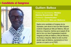 Guillem Balboa, el candidato que no se da por vencido