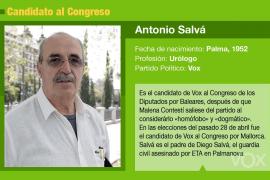Antonio Salvá, un sufridor muy respetado