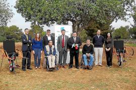 Unas sillas adaptadas facilitarán el senderismo en los espacios naturales