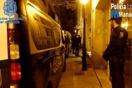 Detenida una mujer en Palma por dejar a su hija de 4 años para irse a un cumpleaños