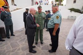 La celebración del día de la patrona de la Guardia Civil en Ibiza, en imágenes .