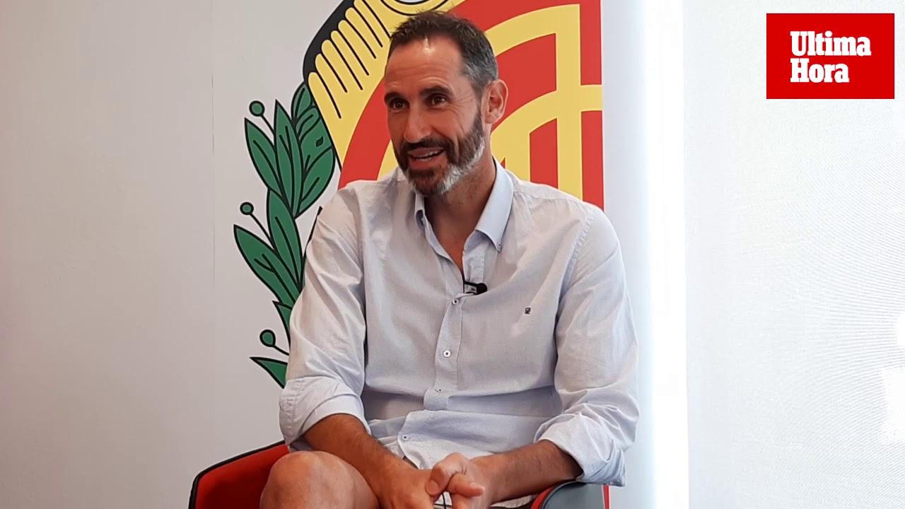 Vicente Moreno: «Todo ha ido muy rápido»