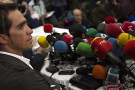Contador confirma que no recurrirá la sanción del TAS