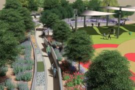 El Parc de sa Riera será la primera área de juegos inclusivos de Palma