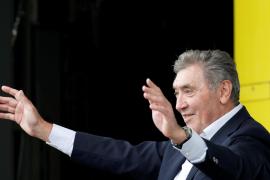 El exciclista Eddy Merckx sufre una «lesión grave en la cabeza»