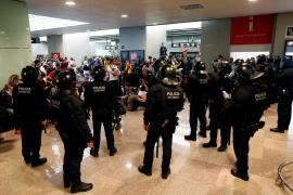 Trece heridos en las protestas contra la sentencia del 'procés'