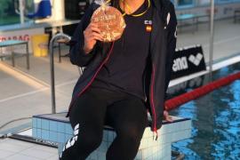 Catalina Corró: «Aún no me hago a la idea de darle nombre a una piscina»