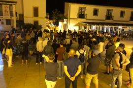 Las protestas en las Pitiusas contra la sentencia del 'procés', en imágenes (Fotos: Arguiñe Escandón / Arnau Camarena).