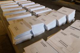 El BOE publica las listas definitivas sin los líderes independentistas condenados