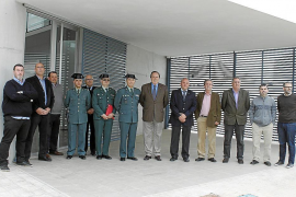 El destacamento de la Guardia Civil de sa Pobla estrenará el nuevo cuartel este mes de abril