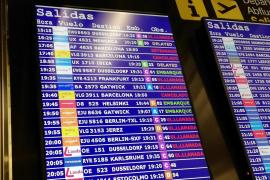 Cancelados cuatro vuelos entre Baleares y Barcelona por las protestas