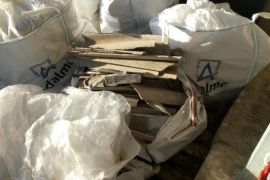 Denuncian la gestión del amianto en Alaró y el Ajuntament asegura que se realiza de forma reglamentaria y segura