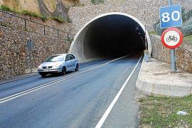 En el primer año sin peaje circularon por el túnel de Sóller 878 coches más cada día