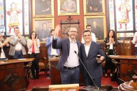 Daniel Oliveira toma posesión como regidor del Ajuntament de Palma